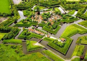 Vesting Bourtange Holland